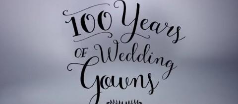 100 años de vestidos de novias en 3 minutos