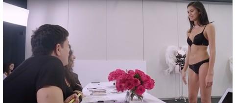 Juanita Burga en el Casting de Victoria's Secret Fashion Show 2015